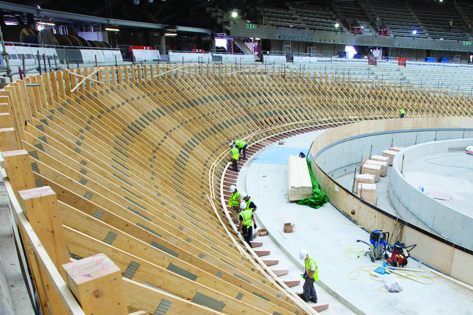 Velodrome-construction