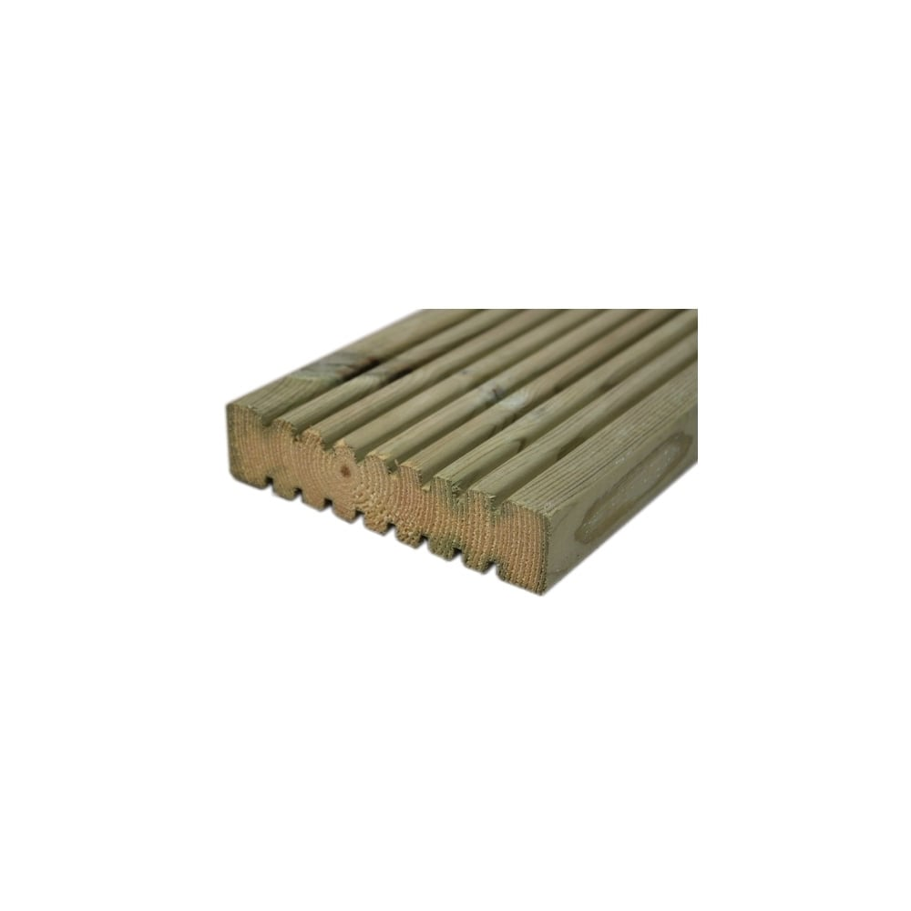 Timber deck board