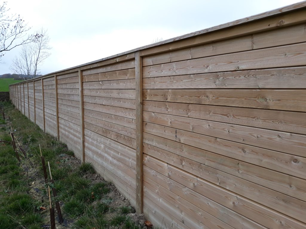 Acoustic fence panels